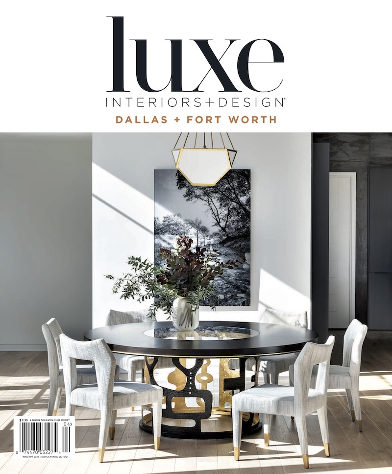 luxe magazine cover march april 2021